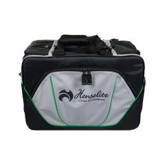 Henselite Bowls Bag: Model Sports Pro Black/Grey/Green