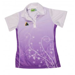 Henselite Ladies Spring Polo - Lilac