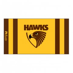 Henselite AFL Dri Tec Towel - Hawthorn