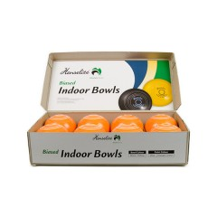 "Henselite Indoor Carpet Bowls - 4"" Orange Only"