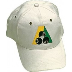 Henselite Brushed Cotton Cap - B.A. Logo White