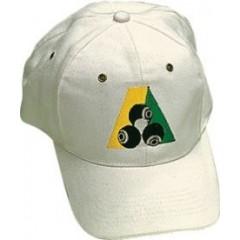 Henselite Brushed Cotton Cap - B.A. Logo White