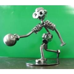 Baranoff F1540 Bowling Player Figurine