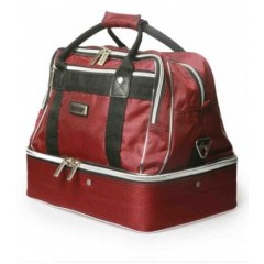 Hunter 410 4 Bowl Carry Bag Burgundy