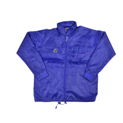 Henselite Rainwear: Jacket - Unlined Drawstring Royal Blue